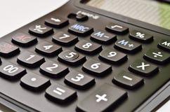 O fim acima da calculadora Foto de Stock