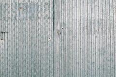O fim acima de oxidado galvaniza o ferro Foto de Stock