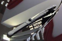 O fim acima do limpador de para-brisa traseiro Imagem de Stock