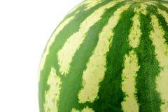 O fim da melancia acima Fotografia de Stock