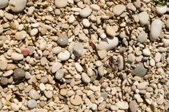 O fim de semana da Espanha textures a praia 1 das pedras do fundo imagem de stock royalty free