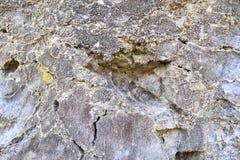 O fim detalhado acima dos tiros da textura das montanhas do cal surge em Alemanha do norte fotografia de stock