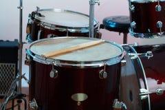 A música rufa o instrumento Foto de Stock