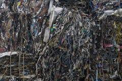 O fio bonde para recicla Imagens de Stock
