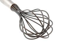 O fio whisk isolado no branco Imagens de Stock