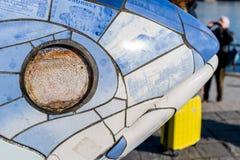 O Fish& grande x27; olho de s Imagens de Stock