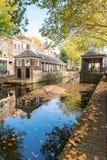 O fishmarket histórico no Gouda, Holanda r fotografia de stock royalty free