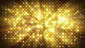 O flash ilumina o fundo do sumário da parede do disco Fotografia de Stock