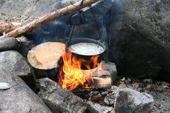 O fogo Foto de Stock Royalty Free