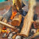 O fogo fotografia de stock royalty free