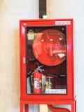 O fogo da emergência Fotografia de Stock