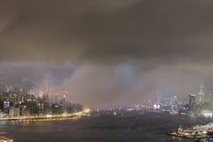 o fogo de artifício do 20o aniversário HK Fotos de Stock Royalty Free
