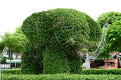 O formulário da árvore de elefante Fotos de Stock Royalty Free