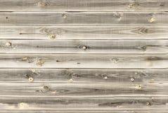 O forro de madeira embarca a parede luz - textura da madeira de carvalho marrom painéis velhos do fundo, teste padrão sem emenda  Foto de Stock Royalty Free