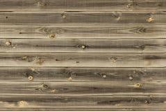 O forro de madeira embarca a parede textura de madeira marrom do midtone painéis velhos do fundo, teste padrão sem emenda Prancha Imagens de Stock Royalty Free