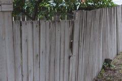 O forro de madeira velho embarca a parede Imagem de Stock