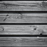 O forro de madeira velho embarca a parede Fotos de Stock