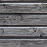 O forro de madeira velho embarca a parede Fotos de Stock Royalty Free