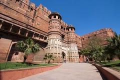 O forte de Agra, Índia Foto de Stock Royalty Free