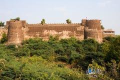 O forte de Maheshwar fotos de stock