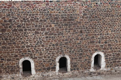 O forte III de Aziziye em Erzurum, Turquia Fotografia de Stock Royalty Free