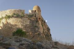 O Fortezza Cidade de Rethymno crete Imagens de Stock Royalty Free