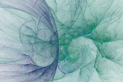 O fractal abstrato ilustrou o papel de parede rendido fundo Foto de Stock Royalty Free