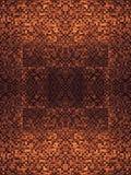 O fragmento de linhas quadradas obscuridade marrom cinzenta alaranjada cor-de-rosa vermelha da textura ou do cruzamento do ouro d Foto de Stock Royalty Free