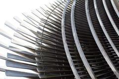 O fragmento de uma turbina de vapor Fotos de Stock