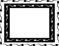 O frame do esperma Fotos de Stock Royalty Free