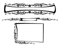 O frame gótico Fotografia de Stock