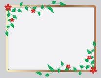 O frame sob a forma do ornamento floral Fotos de Stock Royalty Free