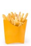 O francês frita (o tiro cheio) Fotografia de Stock Royalty Free