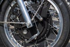 O freio dianteiro do magnésio original da motocicleta masca o Mammoth TTS 1200 Fotos de Stock Royalty Free