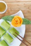 O fruto chinês do Durian endurece para a sobremesa Imagens de Stock Royalty Free