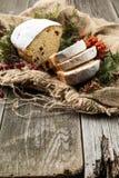 O fruto de Stollen, Natal stollen Fotos de Stock Royalty Free