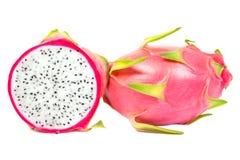 O fruto do dragão no fundo branco Imagem de Stock Royalty Free