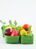 O fruto imitou o feijão de soja Fotos de Stock