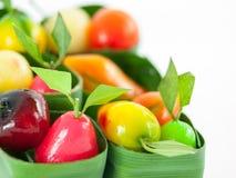 O fruto imitou o feijão de soja Imagens de Stock Royalty Free