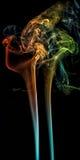 O fumo acanelado espirala BB130930 Fotos de Stock Royalty Free