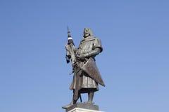 O fundador de Valladolid Foto de Stock