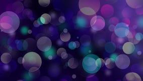 O fundo abstrato borrado elegante do Natal festivo colorido com bokeh ilumina-se Imagens de Stock