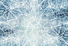 O fundo abstrato com gelo do caleidoscópio fragmenta o teste padrão Imagem de Stock