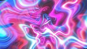 O fundo abstrato da energia do fulgor com efeitos visuais da ilusão e da onda, 3d rende a geração do computador Imagens de Stock