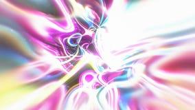 O fundo abstrato da energia do fulgor com efeitos visuais da ilusão e da onda, 3d rende a geração do computador Foto de Stock Royalty Free
