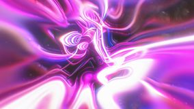 O fundo abstrato da energia do fulgor com efeitos visuais da ilusão e da onda, 3d rende a geração do computador ilustração royalty free