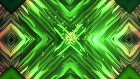 O fundo abstrato do caleidoscópio do espelho, 3d rende contexto gerado por computador, efeito da distorção ilustração royalty free