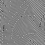 O fundo abstrato do irregular orgânico do vetor alinha o teste padrão do labirinto ilustração stock