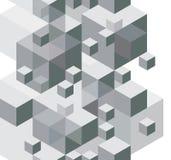 O fundo abstrato do projeto, teste padrão sem emenda, vector o monochrome Fotografia de Stock Royalty Free