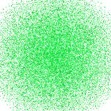 O fundo abstrato dos confetes com verde arranjou caoticamente círculos d Vector a ilustração para a decoração dos feriados, postc Imagens de Stock Royalty Free
